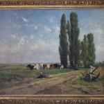 Zomerlandschap van Willem Roelofs