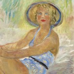 Blonde assise en maillot de bain, Charles Camoin, 1937