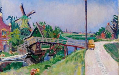 De Zaanstreek, Jan Sluijters, ca. 1908-09