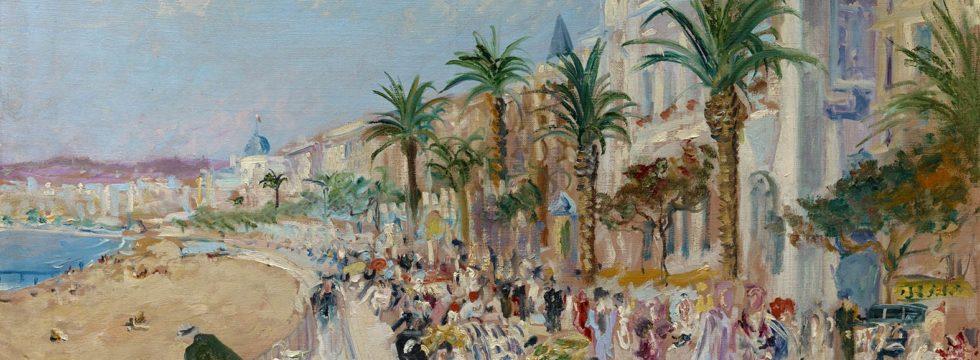 Lucien Adrion - La Croisette à Cannes, 1930