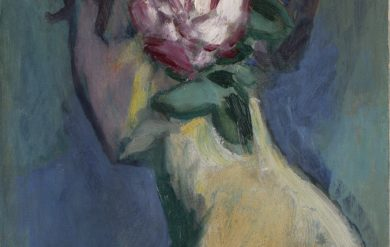Femme a la Rose - Kees van Dongen, ca. 1925