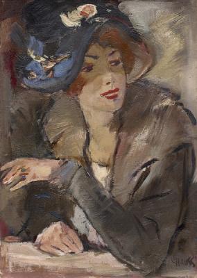 Grauss, Geert - Portret van een jonge vrouw