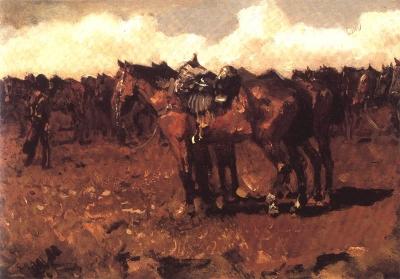 George Hendrik Breitner- Cavelerie
