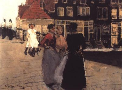 George Hendrik Breitner - Op de Lindengracht