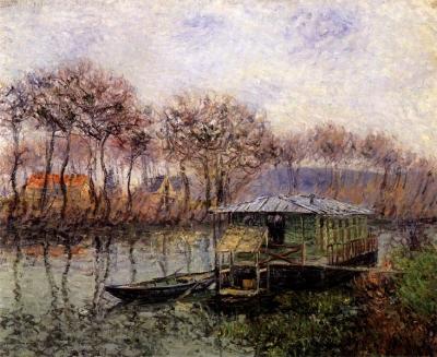 La Seine à Port-Marley