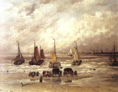 Terugkeer van de vissersvloot