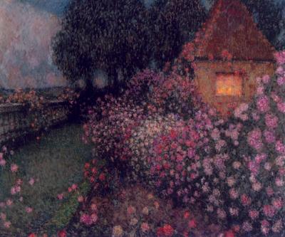 Le pavillon dans la roseraie, Gerberoy
