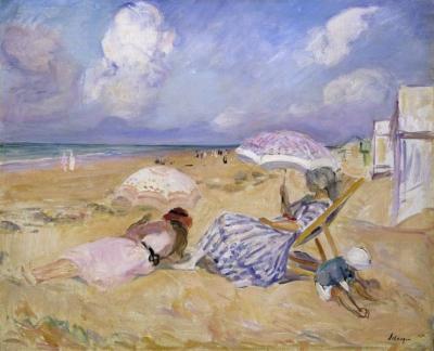 Het strand van Saint Jean de Monts