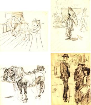 Diverse tekeningen