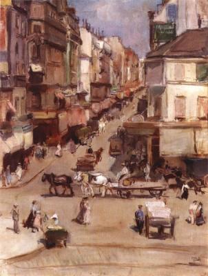 Israels, Isaac - Rue Clignancourt