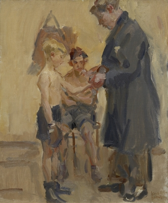 Israels, Isaac - The Boxing Lesson
