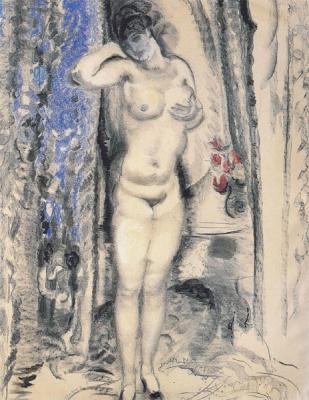 Sluijters, Jan - Staand naakt, 1917