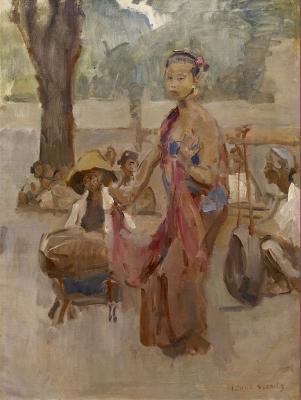Israels, Isaac - Javaanse danseres