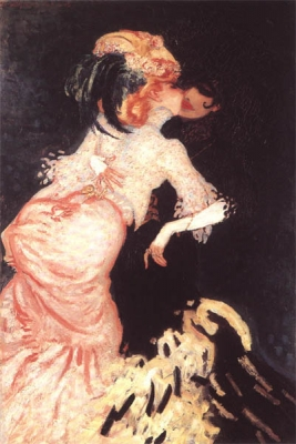 Sluijters, Jan - Femmes qui s'embrassent, Parijs 1906