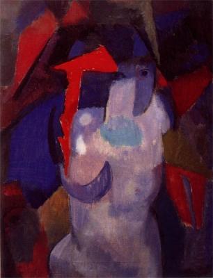 Sluijters, Jan - Kubistisch halfnaakt, 1913