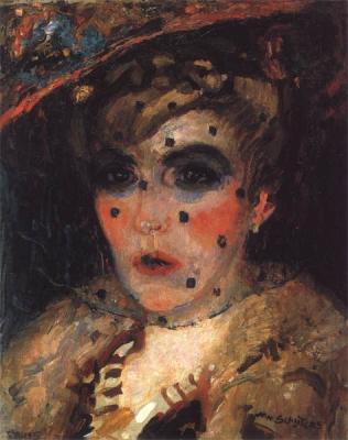 Sluijters, Jan - Dame met voile, 1906