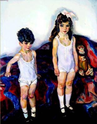 Sluijters, Jan - De kinderen Kramarsky