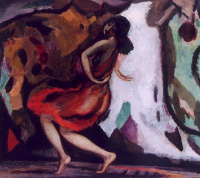 Sluijters, Jan - Danseres, Gertrud Leistikow, ca. 1919-1920