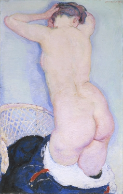 Sluijters, Jan - Staand naakt op de rug gezien, ca 1910