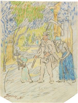 Toorop, Jan - Processie, 1908