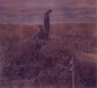 Toorop, Jan - Zwervers in de duinen