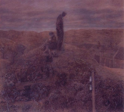 Toorop, Jan - Zwervers in de duinen