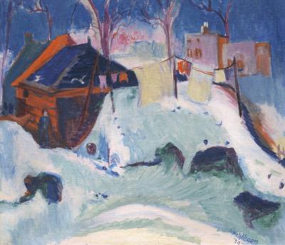 Wiegers, Jan - Winter in Groningen