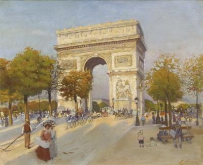 Lucas, Jean Lucas - L'Arc de Triomphe