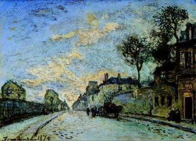 Jongkind, Johan Barthold - Rue à Paris