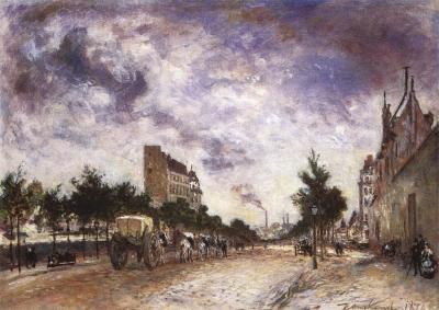 Jongkind, Johan Barthold - Boulevard de Port-Royal