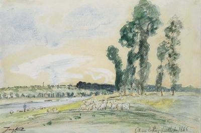 Jongkind, Johan Barthold - La Seine à Choisy le Roi