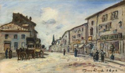 Jongkind, Johan Barthold - Le diligence de Côte St André