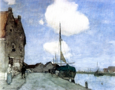 Weissenbruch, Johan Hendrik - Bij Haarlem