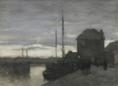 Weissenbruch, Johan Hendrik - Gezicht in Haarlem