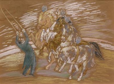 Gestel, Leo - Circus met paarden