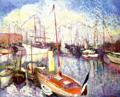 Adrion, Lucien - Port de Saint Tropez