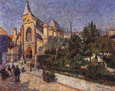 Luce, Maximilien - L'église de St. Médard, Paris