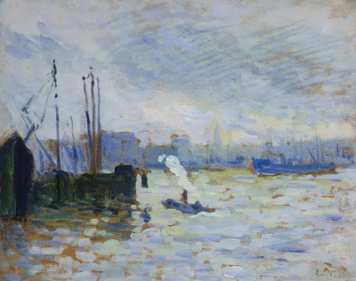 Luce, Maximilien - La Meuse à Feynor