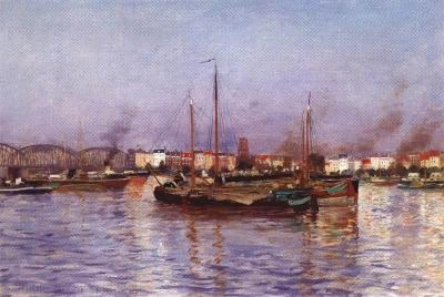 La Meusse à Rotterdam