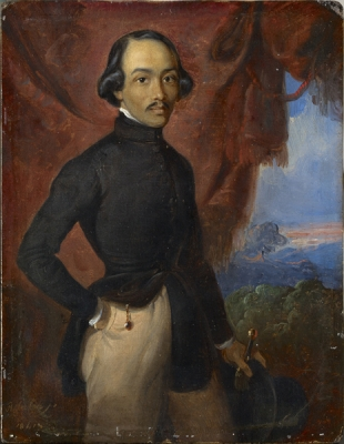 Salèh, Raden - Zelfportret