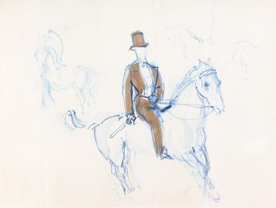 Dufy, Raoul - Monsieur Loyal à cheval