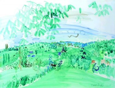 Dufy, Raoul - Campagne Normande
