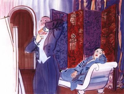 Dufy, Raoul - Le départ pour la soirée