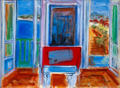 Dufy, Raoul - Fenêtre ouverte à Nice