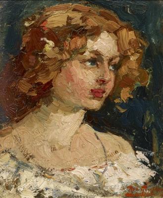 Graafland, Robert - Portret van een jonge vrouw