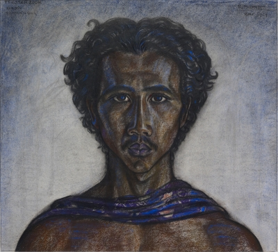 Bonnet, Rudolf - Hindou Priesterzoon, Tampaksiring