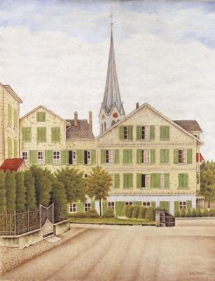 Meijer, Salomon - Dorfplatz Erlenbach, Zwitserland