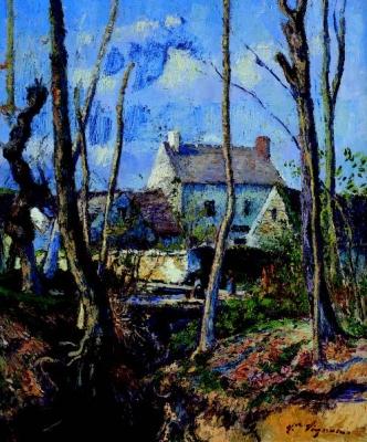 Le hameau en hiver