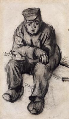 Vincent van Gogh - Zittende boer