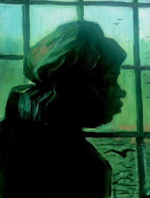 Vincent van Gogh - Portret van een boerin, en profil